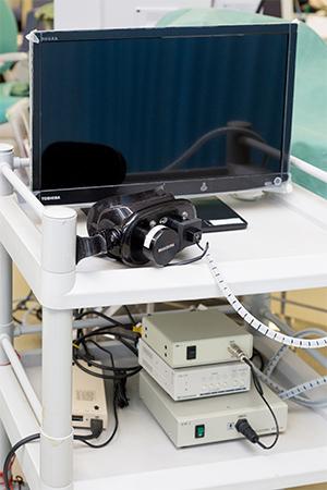 【画像】赤外線眼振画像TV装置